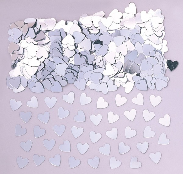Liefdesgeluk hartverstrooiing zilver 14g