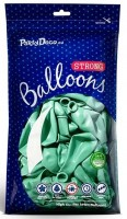10 Partystar metallic Ballons mint 30cm