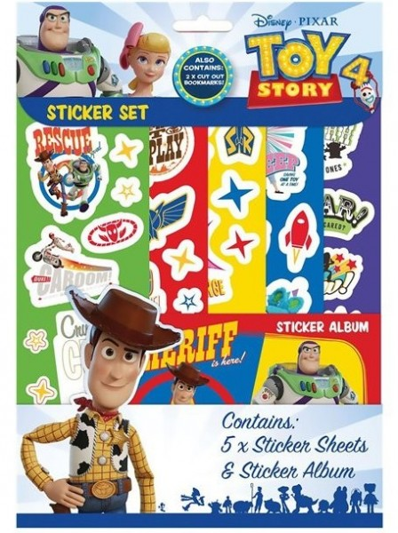 Toy Story 4 Sticker-Set