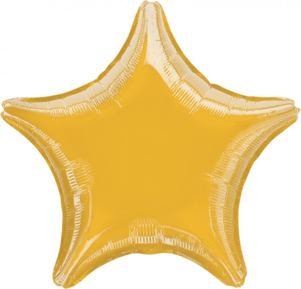 Golden Light star balloon