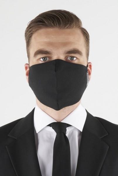 OppoSuits Black Knight Mund Nasen Maske