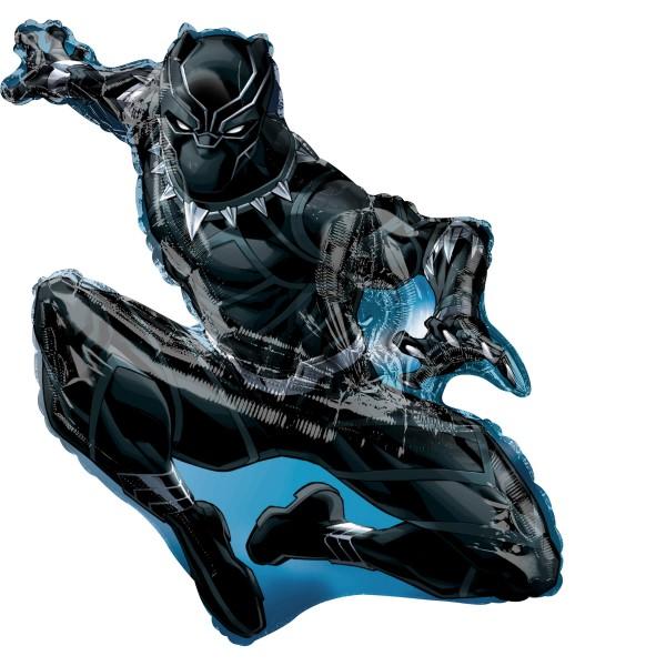 Black Panther Action Folienballon