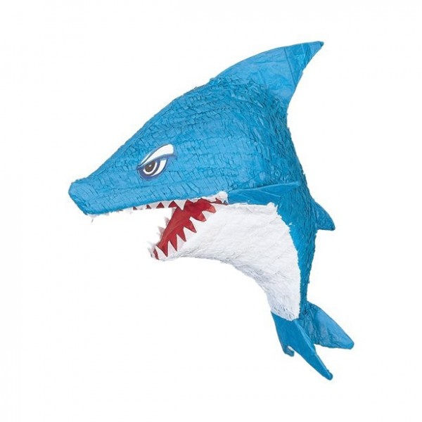Scary shark pinata 50cm