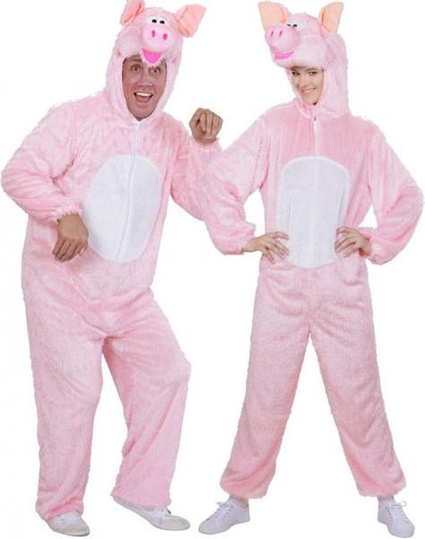 Kostium pluszowa świnka unisex