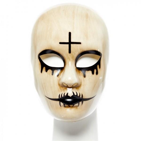 Krydsede nonner maske