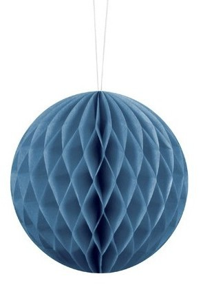 Honeycomb ball Lumina blue 10cm