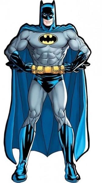 Batman Superheld Pappausschnitt 92cm