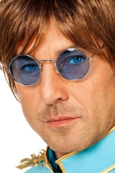 Occhiali hippie John Lennon azzurri