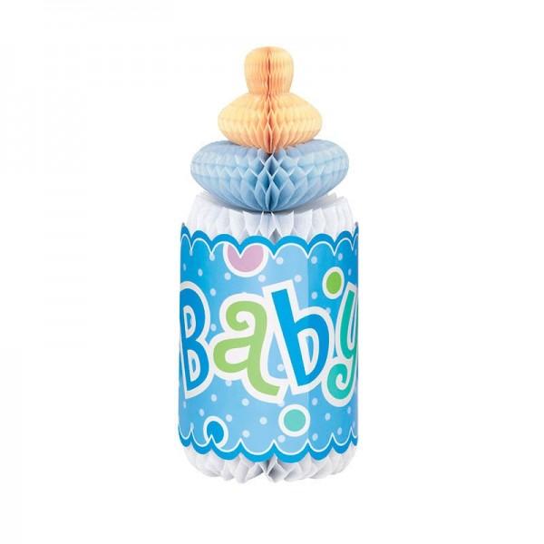 Baby Boy Ben Nuckelflasche Wabenball Aufsteller