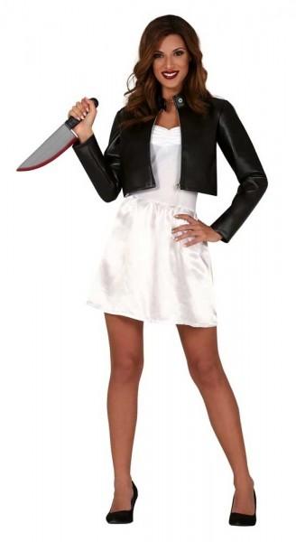 Horror Bride Tiffany dames kostuum