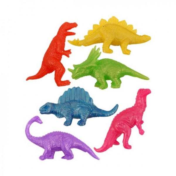 1 cadeau de dinosaure en caoutchouc