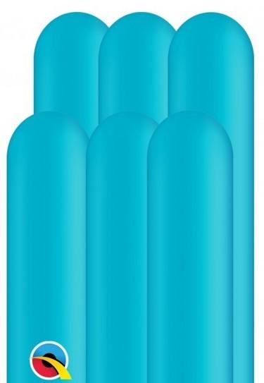 100 balonów modelarskich 260Q akwamaryn 1,5m
