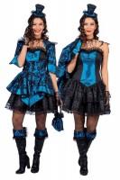 Blaues Barock Kleid Aurelia
