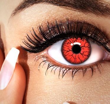 Rote Horror Jahres Kontaktlinsen