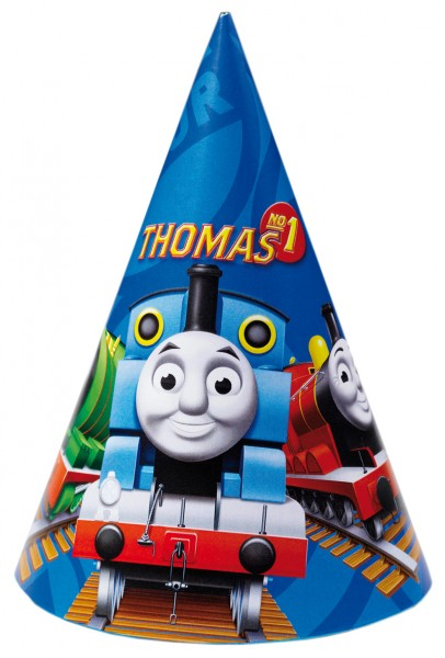 Thomas The Tank Engine Party Hat Set of 6
