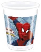 8 Spiderman Web Warriors Becher 200ml