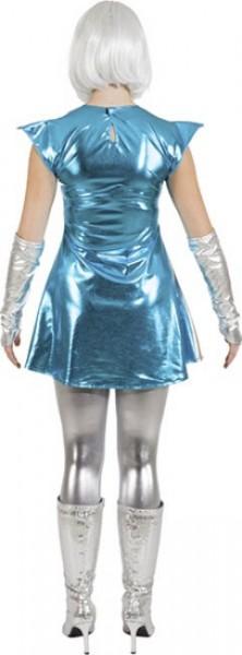 Space Woman Kostüm Gaga Für Damen
