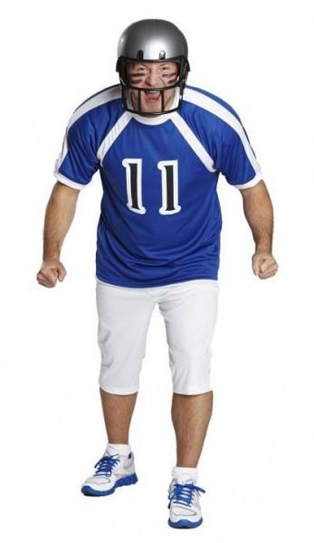 Blaues Football Trikot Für Herren