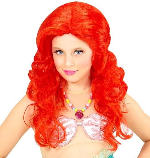 Meerjungfrau Ariella Kinder Perücke