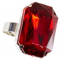 Prunkvoller Rubin Ring