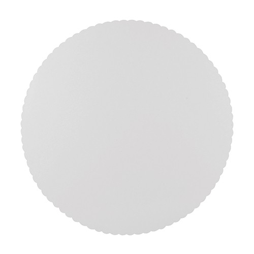 10 FSC Tortenplatten Scarletti weiß 28cm