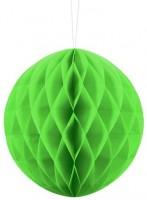 Wabenball Lumina apfelgrün 20cm
