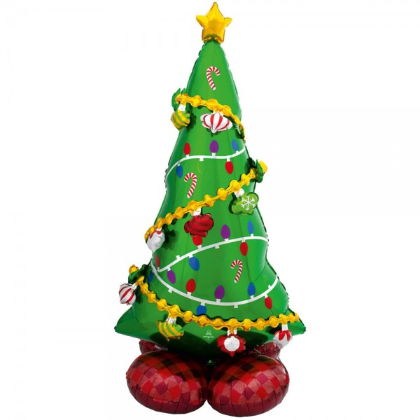AirLoonz giant balloon Christmas tree 130cm