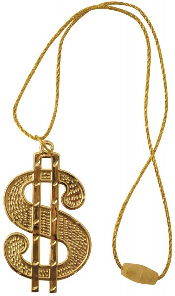 Hip Hopper Dollar Chain Gold