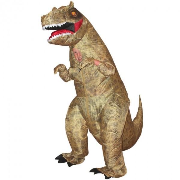 Aufblasbares T-Rex Kinderkostüm
