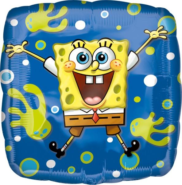 Palloncino foil angolare Spongebob subacqueo