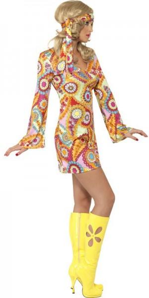 Costume hippie Lady Flower Power