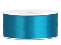 25m Satin Geschenkband türkis 25mm breit