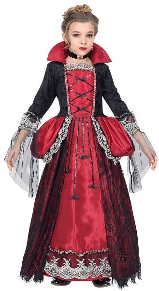 Disfraz de vampiro Viroletta inusual para niño