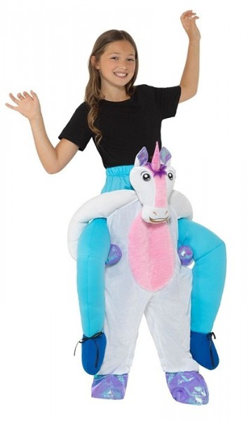 Piggyback unicorn costume for kids