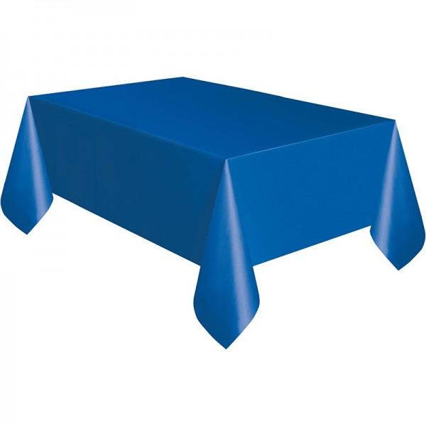 Tablecloth Vera royal blue 1.37 x 2.74m