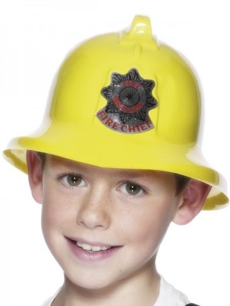 Gelber Feuerwehr Helm Für Kinder