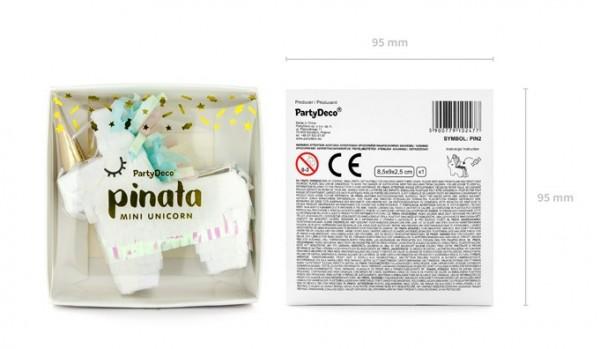 Mini Einhorn Twinkle Pinata