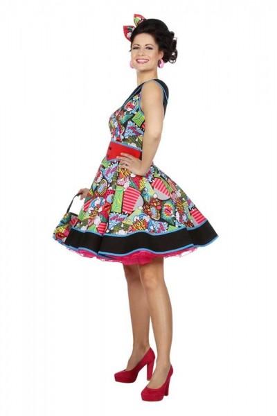Pop Art Kleid Damenkostüm