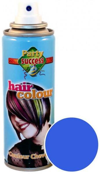 Blaues Color Leucht Haarspray 125ml