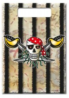 8 Sebastian Säbel Piraten Geschenktüten 25 x 17cm