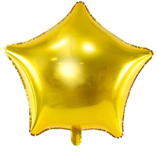 Goldener Sternballon Twinkle 70cm
