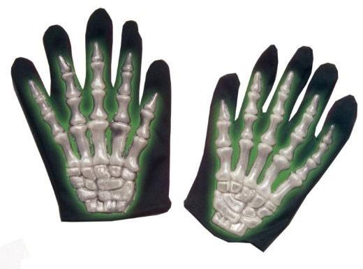 3D Skelett Handschuhe Tanea für Kinder fluoreszierend