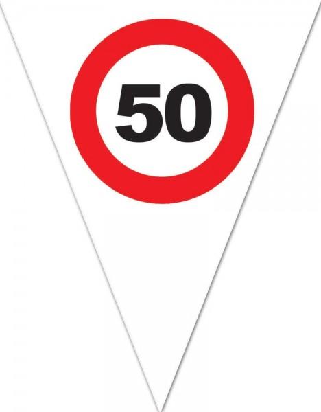 Chaîne de fanions 50 What Else 5m