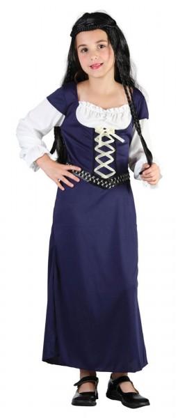Mittelalter Maid Mariella Kinderkostüm