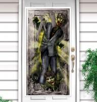 Zombie Town Türposter 1,65m x 85cm