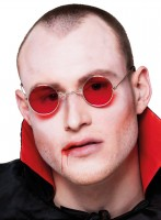 Rote Vampir Lord Brille