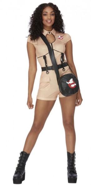 Sexy Overall Ghostbusters Damenkostüm mit Tasche