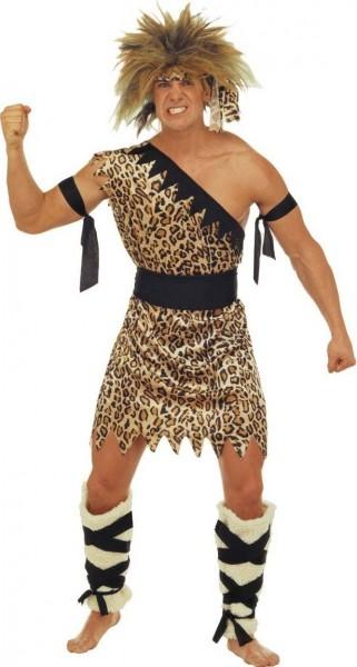 Neanderthaler Caveman mannen kostuum