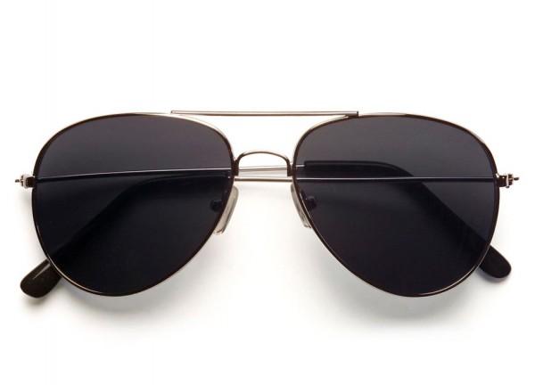 Piloten Brille In Schwarz
