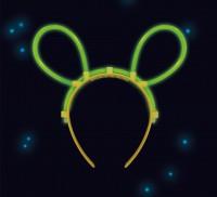Power Glow Mouse Ears Tiara Verde